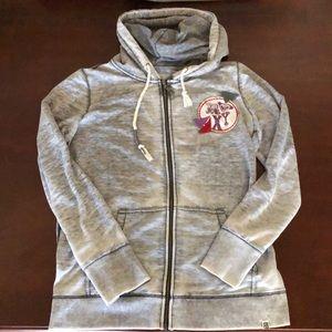 Roxy Hooded Zip Sweatshirt